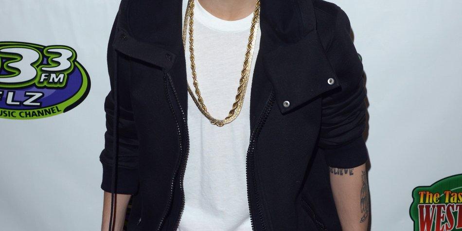 Justin Bieber als Retter in der Not