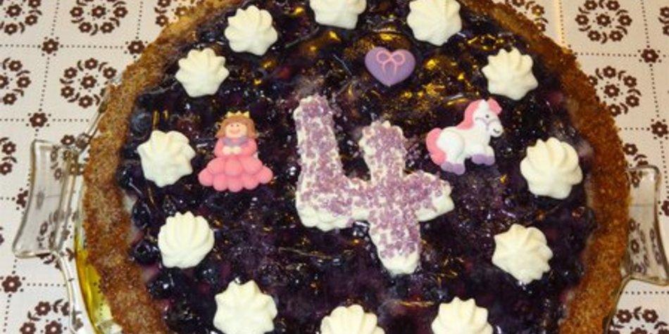 Heidelbeer - Torte mit Eierlikör