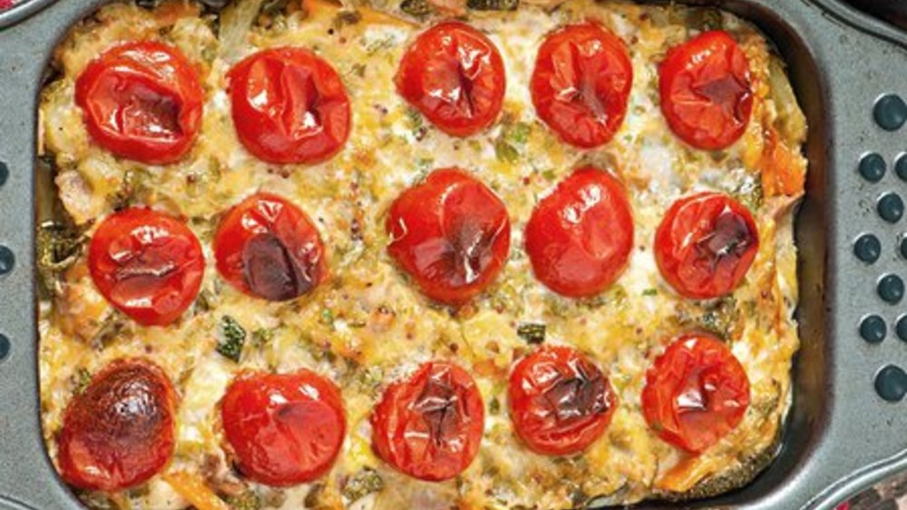 Tomate Zucchini Auflauf