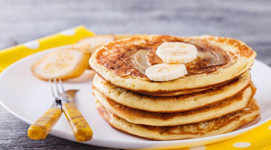 Pancakes aus zwei Zutaten