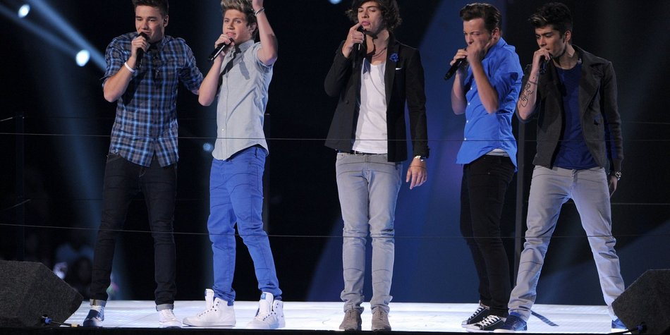 One Direction: Vier Konzerte in Deutschland