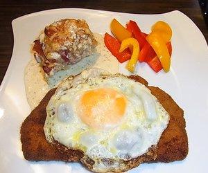 Schnitzel Hamburger Art
