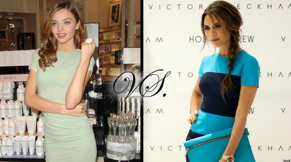 Miranda Kerr vs. Victoria Beckham