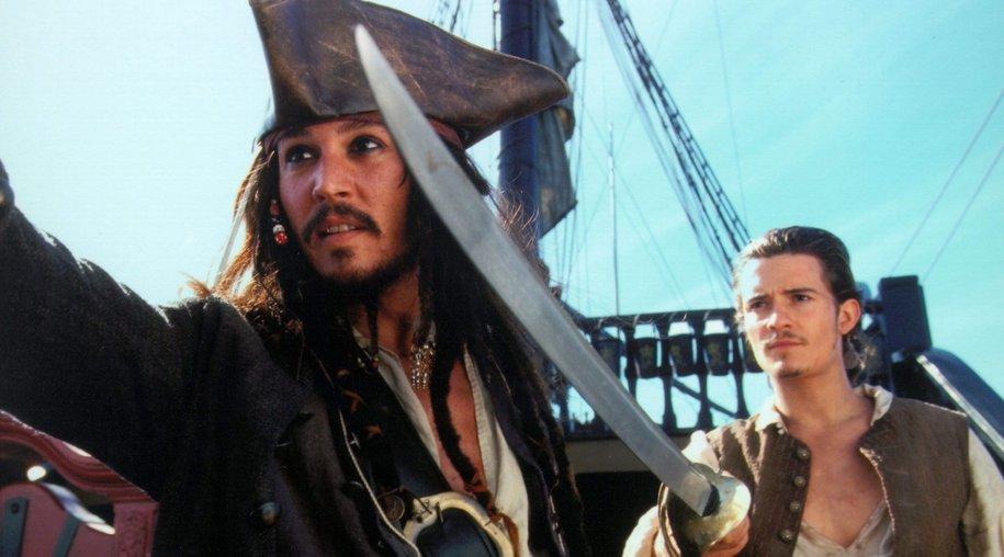 Johnny Depp als Jack Sparrow bei Sat.1