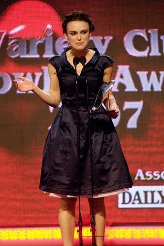 Keira Knightly - der britische Filmstar
