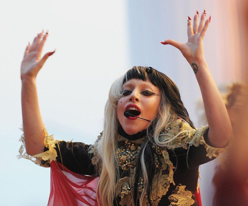 Lady Gaga: Auftritt bei Germanys Next Topmodel