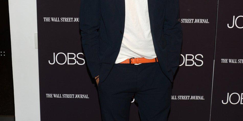 Ashton Kutcher: Ich finde mich weich