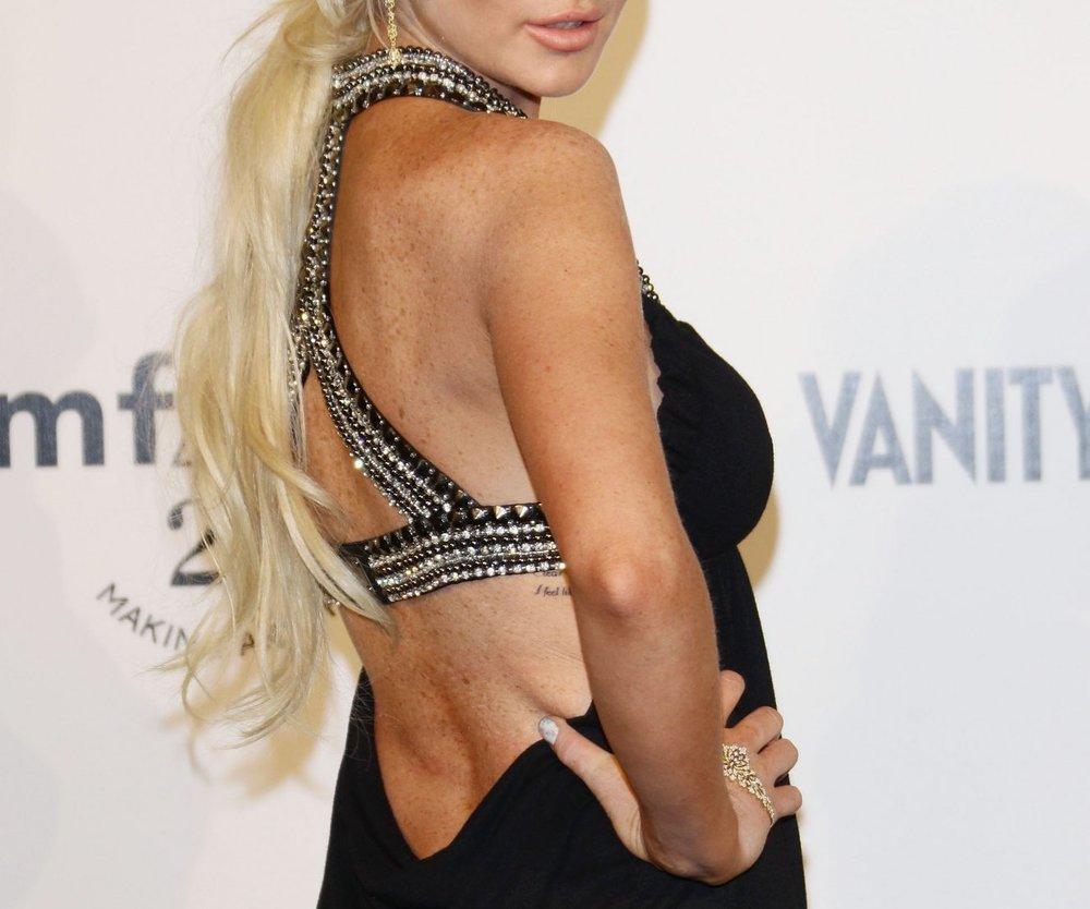 Lindsay Lohan bald im Playboy?
