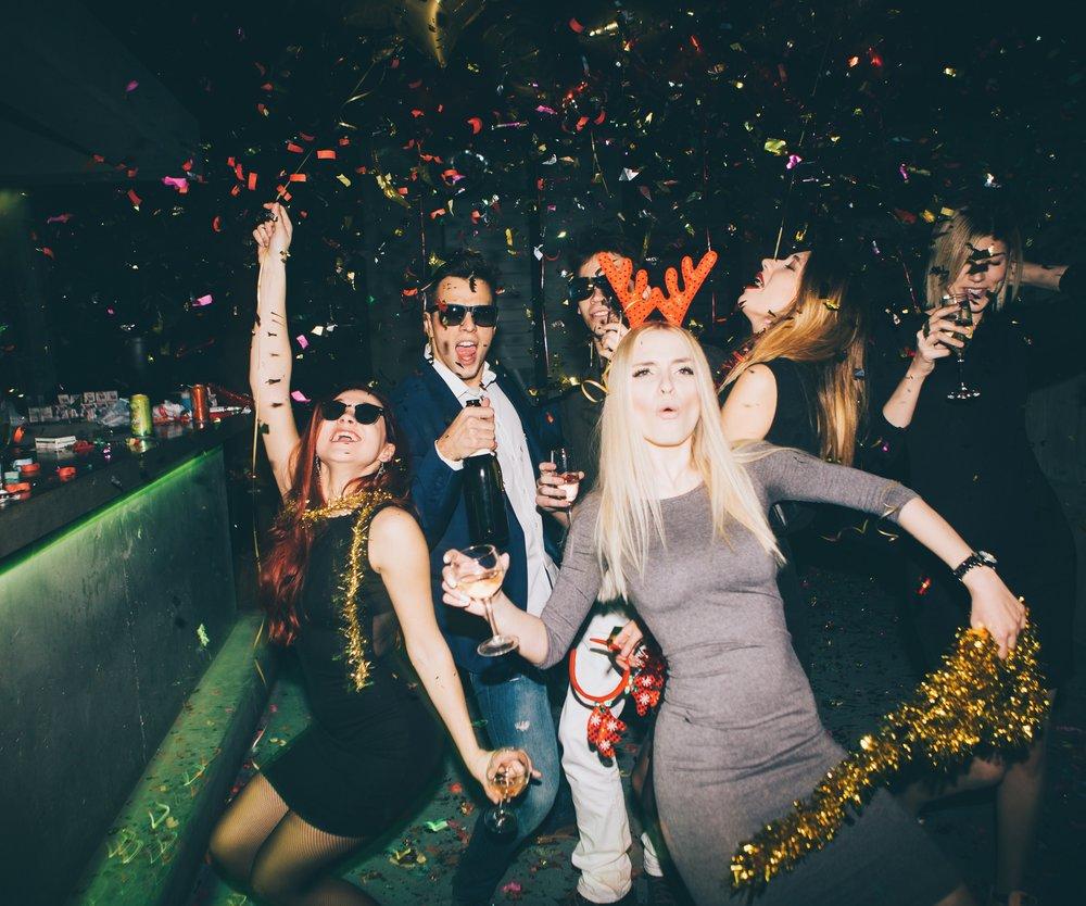 Partyspiele Silvester