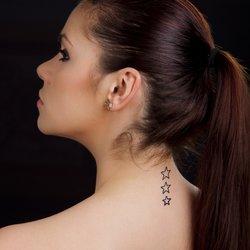 Fallende Sterne Tattoo