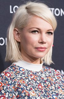 Michelle Williams: Platinblonder Bob