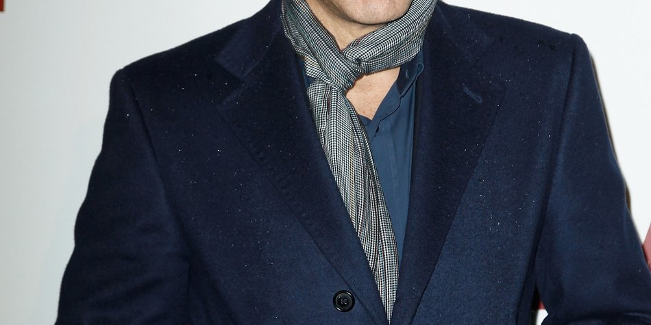 George Clooney lernt seine Schwiegermutter kennen