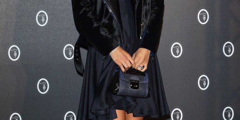 """Michelle Hunziker: Nackt und schwanger auf der """"Vanity Fair"""""""