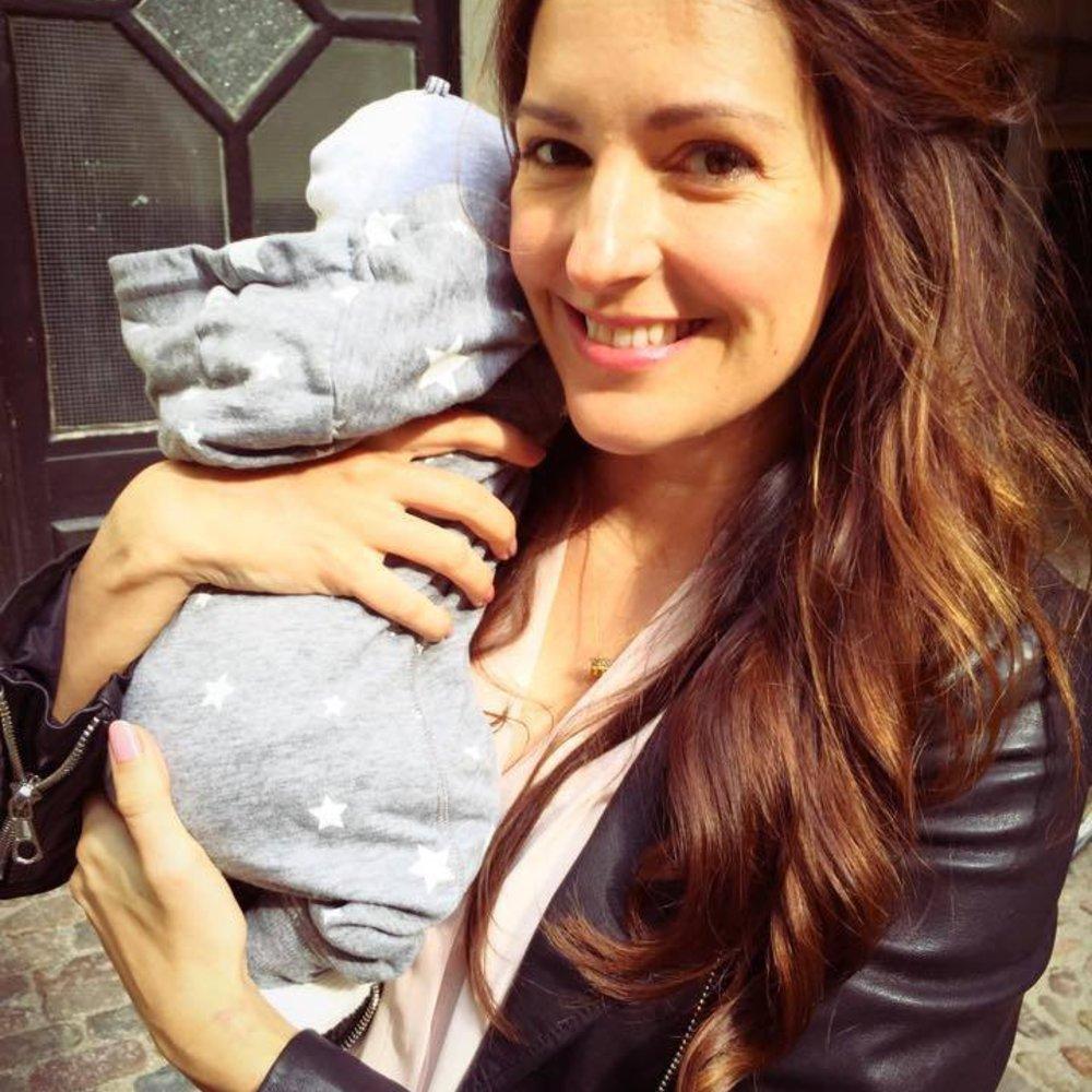 Johanna Klum macht ihren ersten Mutter-Tochter-Ausflug