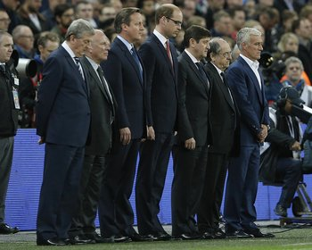 Prinz William im Wembley-Stadion