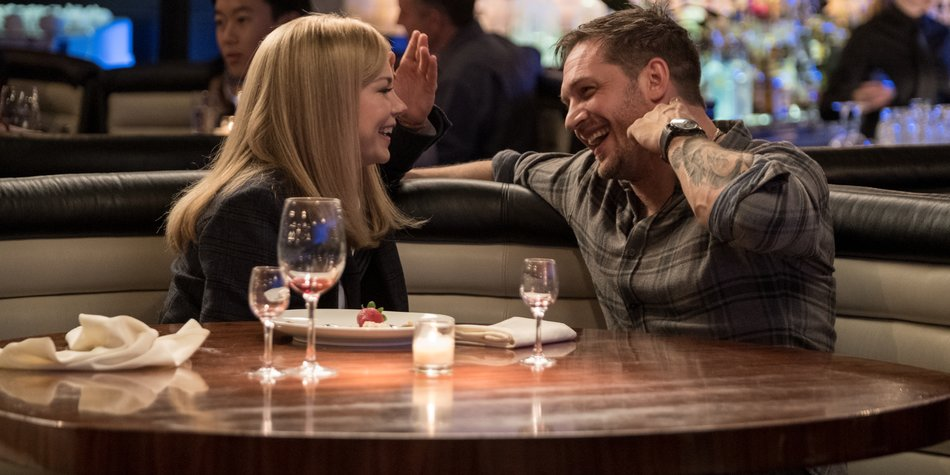 Michelle Williams und Tom Hardy im neuen Film Venom