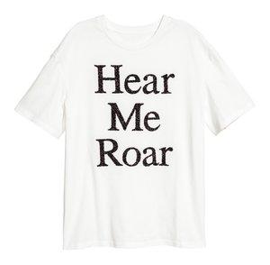 Statement Shirt Hear me Roar