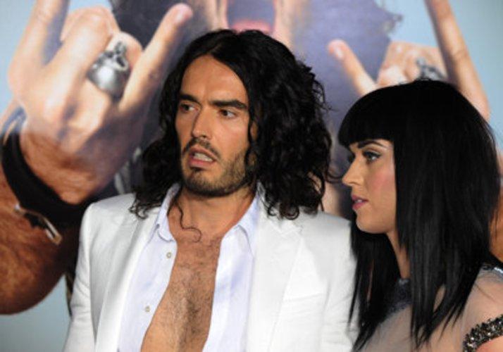 Schauspieler Russell Brand ist mit Katy Perry liiert