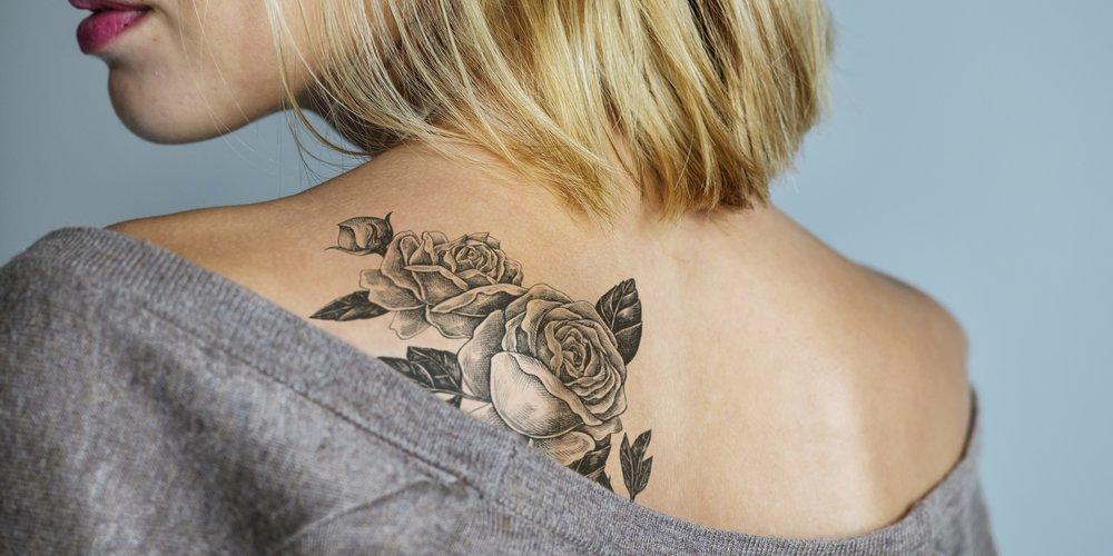Rosen-Tattoo Vorlagen
