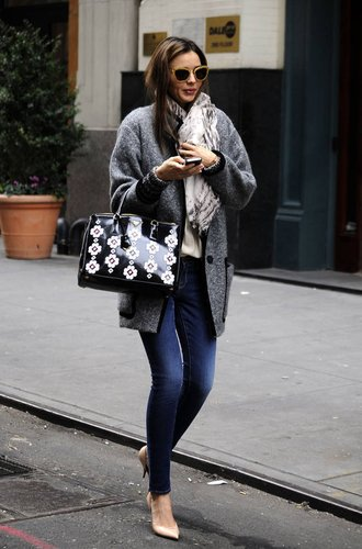 Miranda Kerr in New York