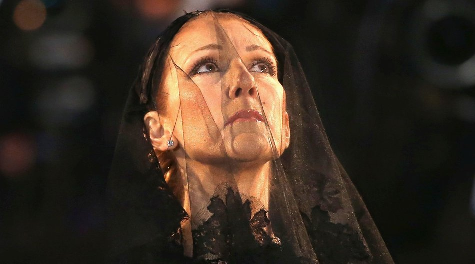 MONTREAL, QC - JANUARY 22: Recording artist Celine Dion attends the State Funeral Service for Celine Dion's Husband Rene Angelil at Notre-Dame Basilica on January 22, 2016 in Montreal, Canada. (Photo by Tom Szczerbowski/Getty Images)