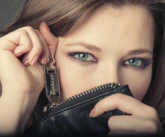 Grüne Augen schminken