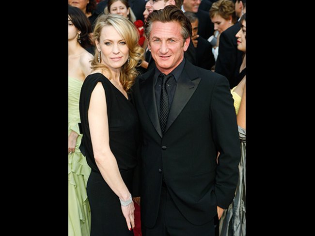 Sean Penn und Robin Wright