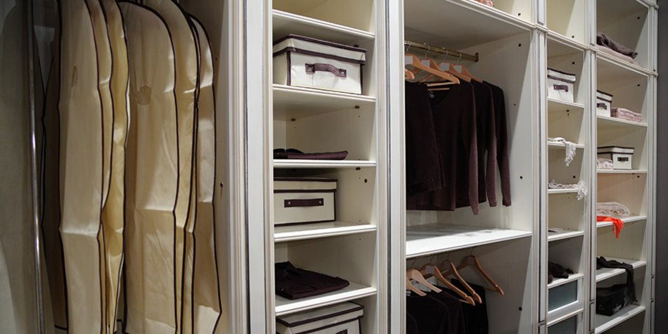 Ordnung im Kleiderschrank: Richtig Einräumen ist das halbe Leben ...