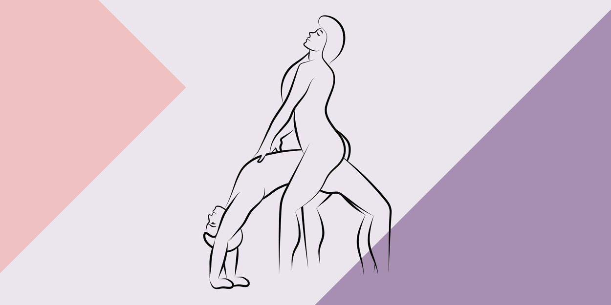 Kamasutra Brückenpfeiler-Stellung Grafik Desired
