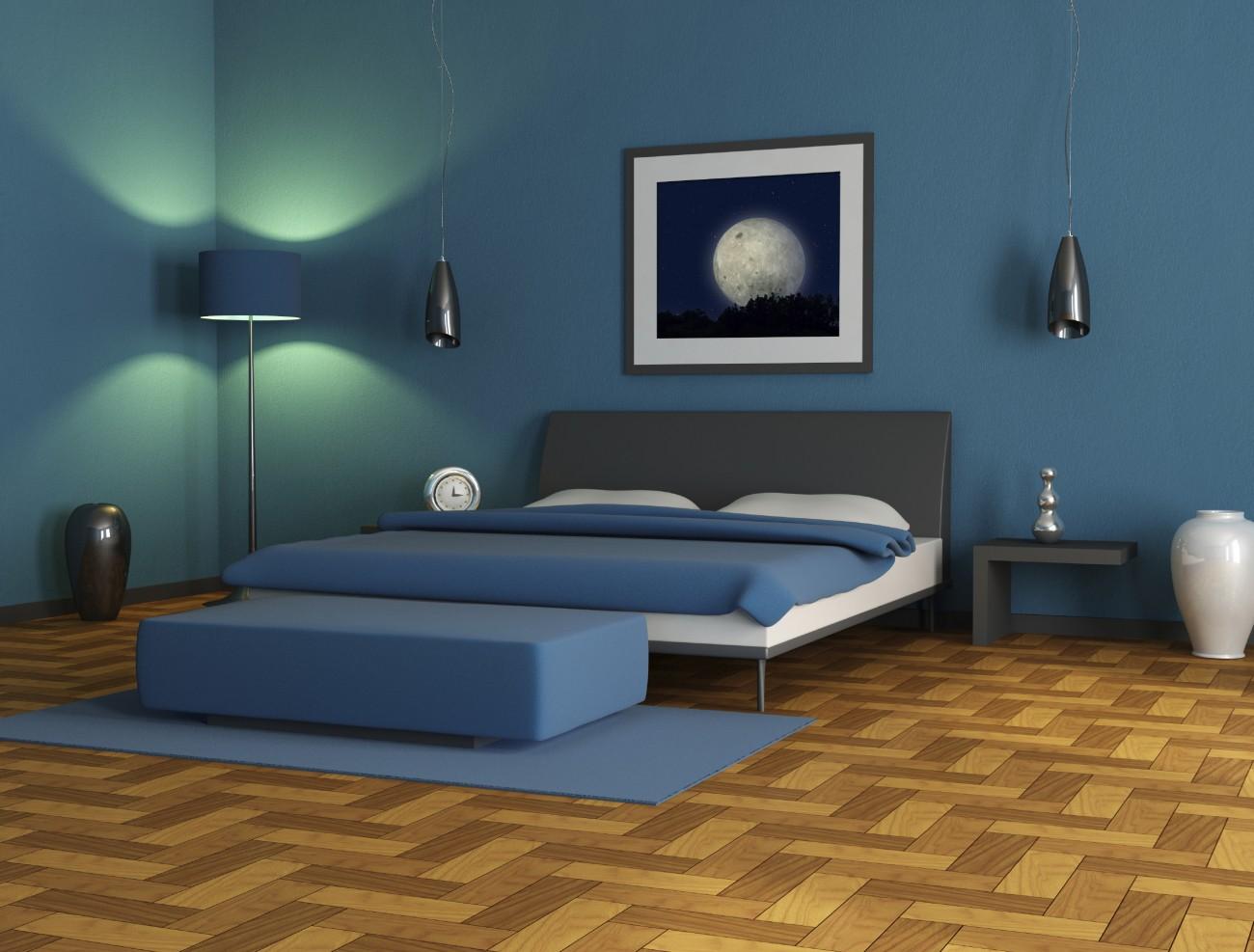 die ideale wandfarbe fürs schlafzimmer | erdbeerlounge.de