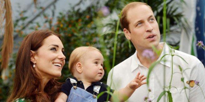 Kate Middleton, Prinz William und Prinz George