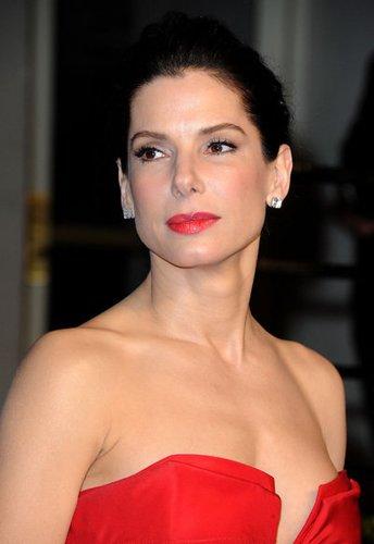 Sandra Bullock besuchte die Oscars 2011