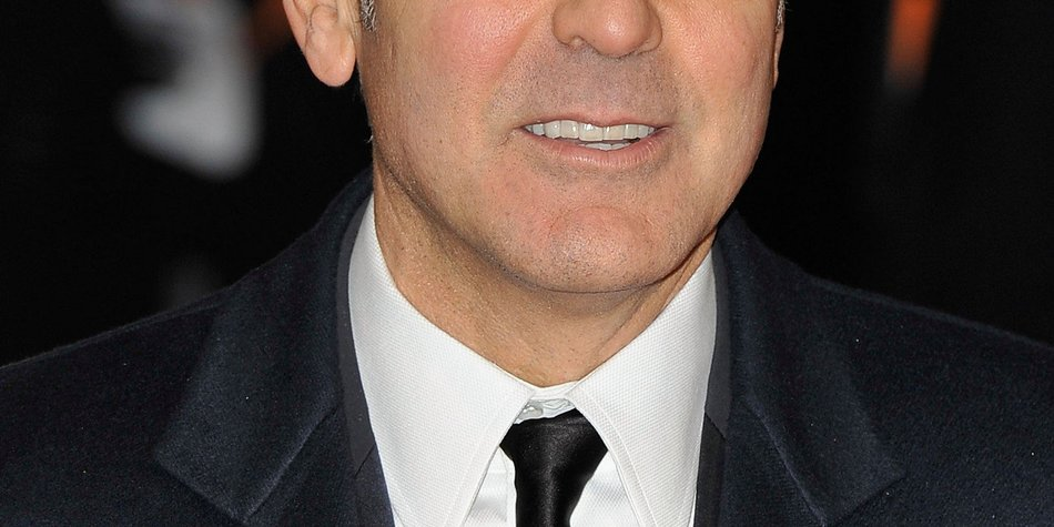 George Clooney verletzte sich schwer