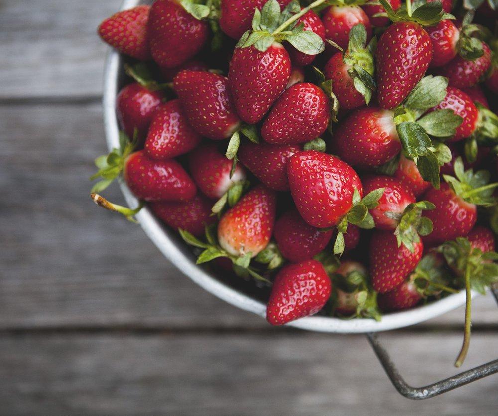 Erdbeeren sind dieses Jahr frühreif!