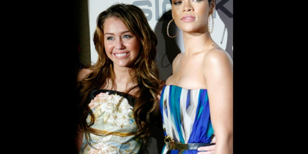 Miley und Rihanna