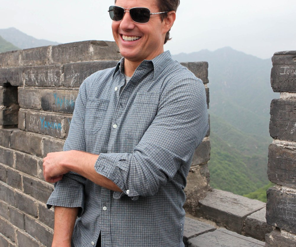 Tom Cruise auf Frauenfang