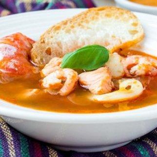 Fischsuppe Bouillabaisse