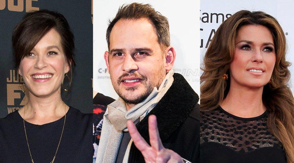 Moritz Bleibtreu, Franka Potente, Shania Twain