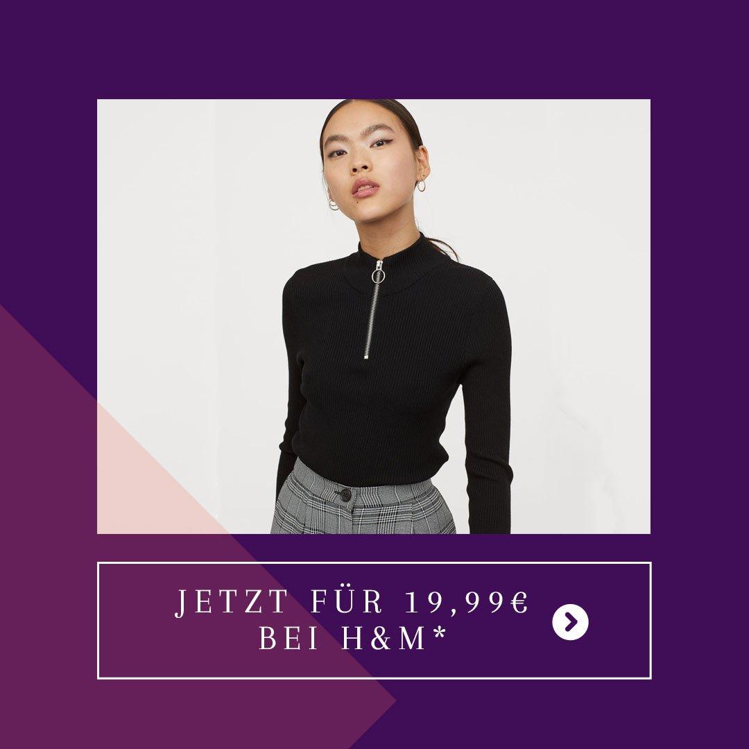 Rollkragen Zipper H&M