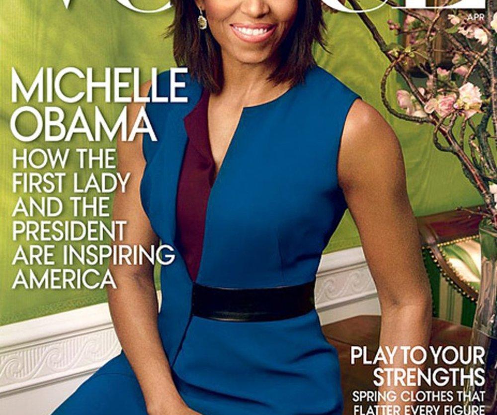 Michelle Obama ziert die neue Vogue