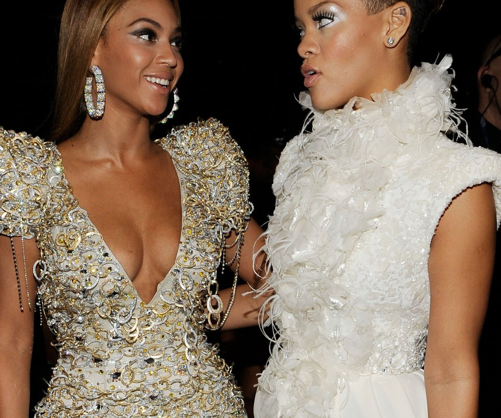 Beyonce Knowles ist das Benehmen von Rihanna leid