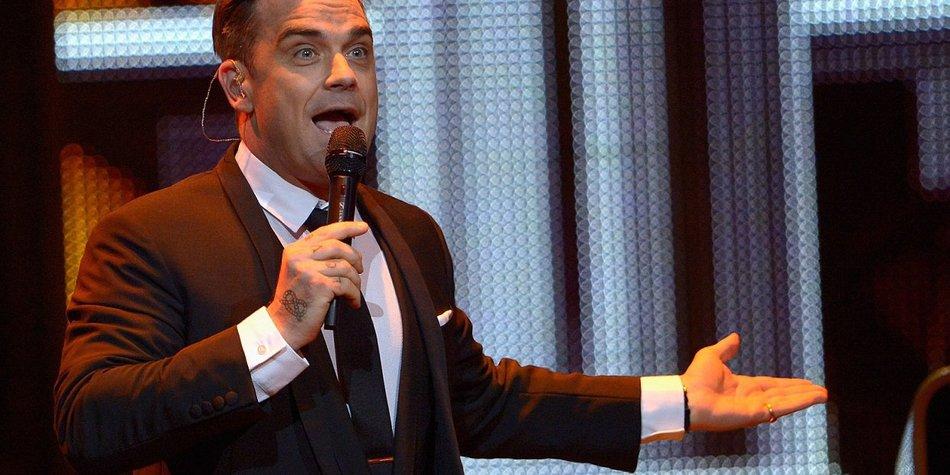 Robbie Williams: Plant er eine Beauty-OP?