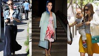 Röcke: Plissee als Modetrend 2012