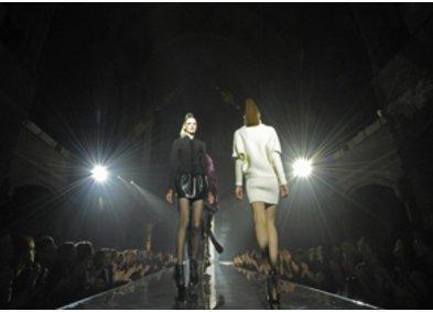 Fashion Show von Michael Michalsky auf der Fashion Week in Berlin im Januar