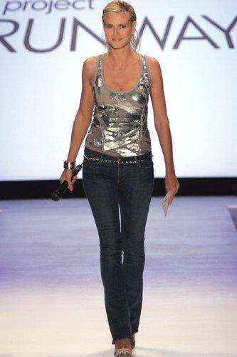 Heidi Klum und Project Runway