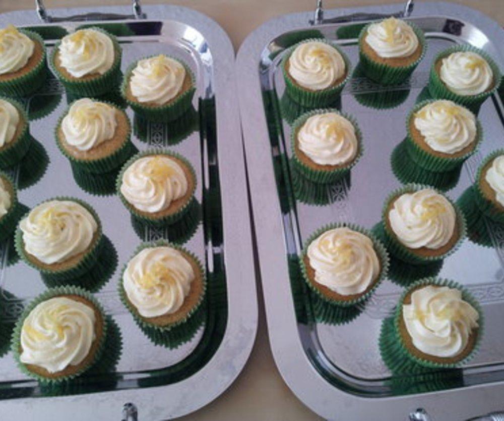 Vanille-Eierlikör-Cupcakes