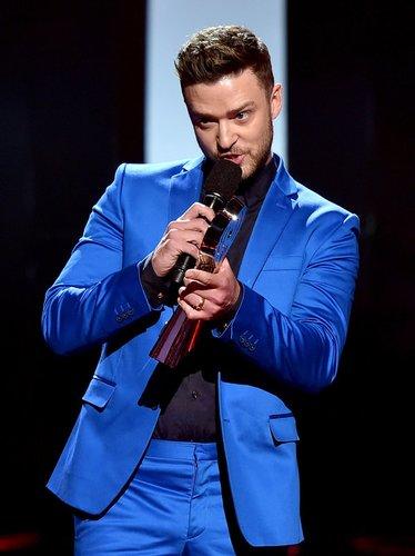 Justin Timberlake beeindruckt mit seiner Dankesrede