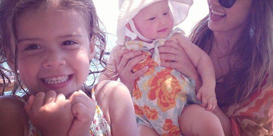 Jessica Alba schickt Bilder aus ihrem Urlaub