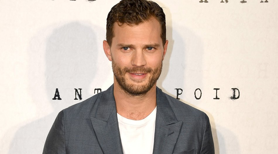 """LONDON, ENGLAND - AUGUST 30: Jamie Dornan attends the """"Anthropoid"""" UK film premiere at the BFI Southbank on August 30, 2016 in London, England. (Photo by Gareth Cattermole/Getty Images)"""