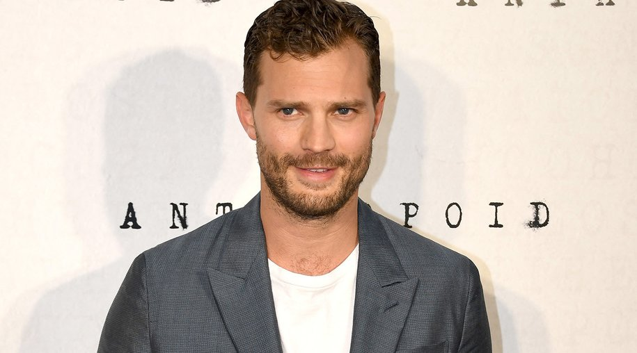 "LONDON, ENGLAND - AUGUST 30: Jamie Dornan attends the ""Anthropoid"" UK film premiere at the BFI Southbank on August 30, 2016 in London, England. (Photo by Gareth Cattermole/Getty Images)"